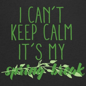 Spring Break / Springbreak: I Can´t Keep Calm. It´ - Männer T-Shirt mit V-Ausschnitt