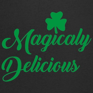 Ireland / St. Patrick's Day: Magicaly Delicious - Mannen T-shirt met V-hals