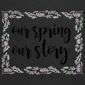 Spring Break / Springbreak: Our Spring. Our Story. - Men's V-Neck T-Shirt