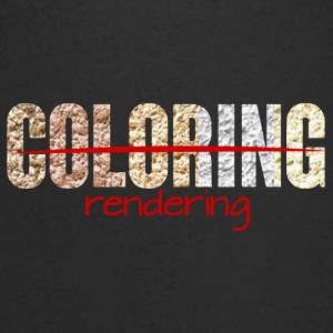 Architect / Architectuur: Coloring - rendering - Mannen T-shirt met V-hals