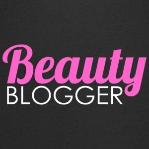 Beauty Blogger - T-skjorte med V-utsnitt for menn