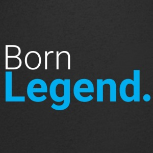 Born Legend - Men's V-Neck T-Shirt