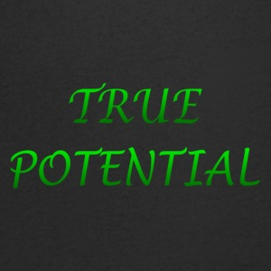 True Potential Design - Men's V-Neck T-Shirt