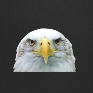 Head of Eagle - Men's V-Neck T-Shirt