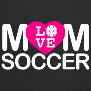 Mom love Soccer - Men's V-Neck T-Shirt