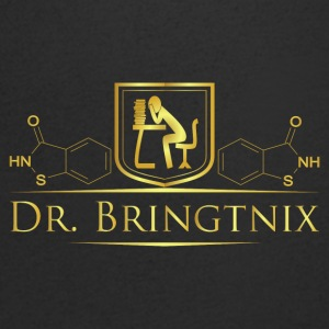 Dr.Bringtnix luxury desk chemistry - Men's V-Neck T-Shirt