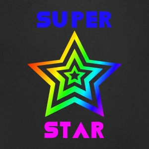 Super Proud Star - Men's V-Neck T-Shirt