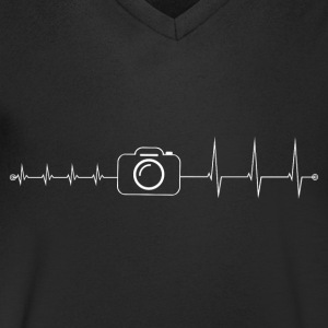Heartbeat Photographie - T-shirt Homme col V