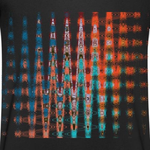 Spacetime by Eve Nord - Männer Bio-T-Shirt mit V-Ausschnitt von Stanley & Stella