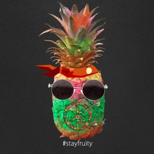 Stay Fruity Pineapple - Männer Bio-T-Shirt mit V-Ausschnitt von Stanley & Stella