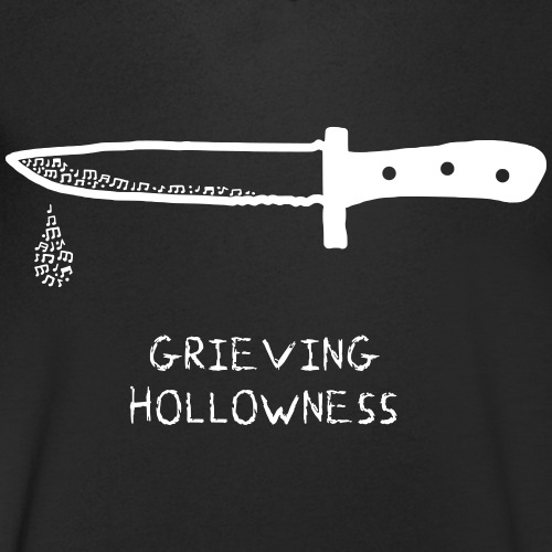 Grieving Hollowness - Men's Organic V-Neck T-Shirt by Stanley & Stella