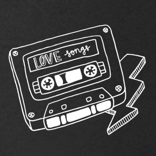 Luloveshandmade - Let's listen to love songs - Männer Bio-T-Shirt mit V-Ausschnitt von Stanley & Stella