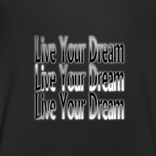 Live your Dream png - Männer Bio-T-Shirt mit V-Ausschnitt von Stanley & Stella