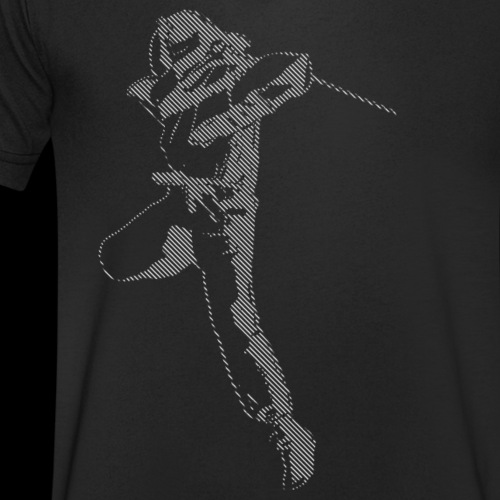 canniste lignes - T-shirt bio col V Stanley & Stella Homme