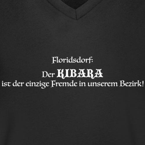 Kibara Schwarz - Männer Bio-T-Shirt mit V-Ausschnitt von Stanley & Stella