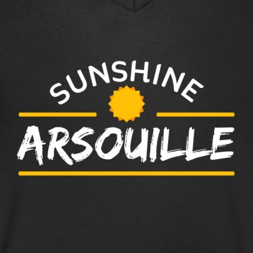 SUNSHINE DONC ARSOUILLE - T-shirt bio col V Stanley & Stella Homme