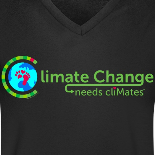 Climate Change needs cliMates - Men's Organic V-Neck T-Shirt by Stanley & Stella