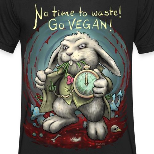 No time to waste - Männer Bio-T-Shirt mit V-Ausschnitt von Stanley & Stella