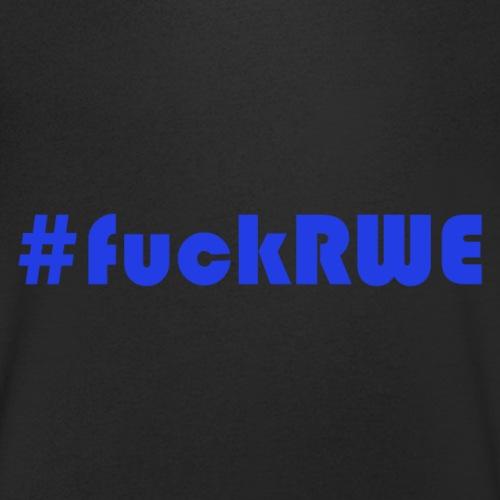 #fuckRWE - Männer Bio-T-Shirt mit V-Ausschnitt von Stanley & Stella