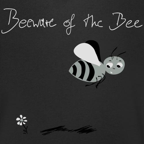Biene! Beeware of the Bee - Männer Bio-T-Shirt mit V-Ausschnitt von Stanley & Stella