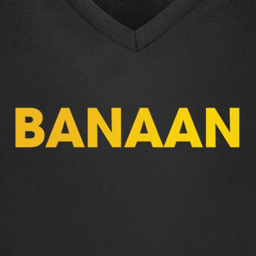 BANAAN 01 - Mannen bio T-shirt met V-hals van Stanley & Stella