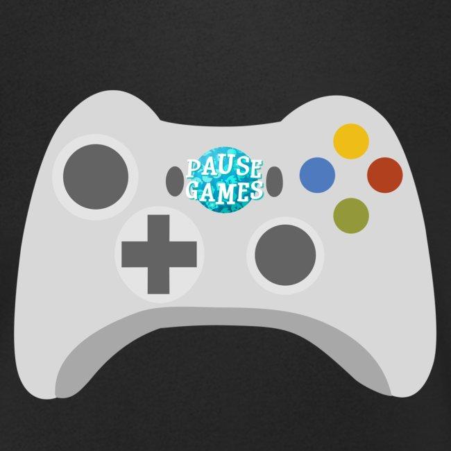 Pause Games Controller Logo