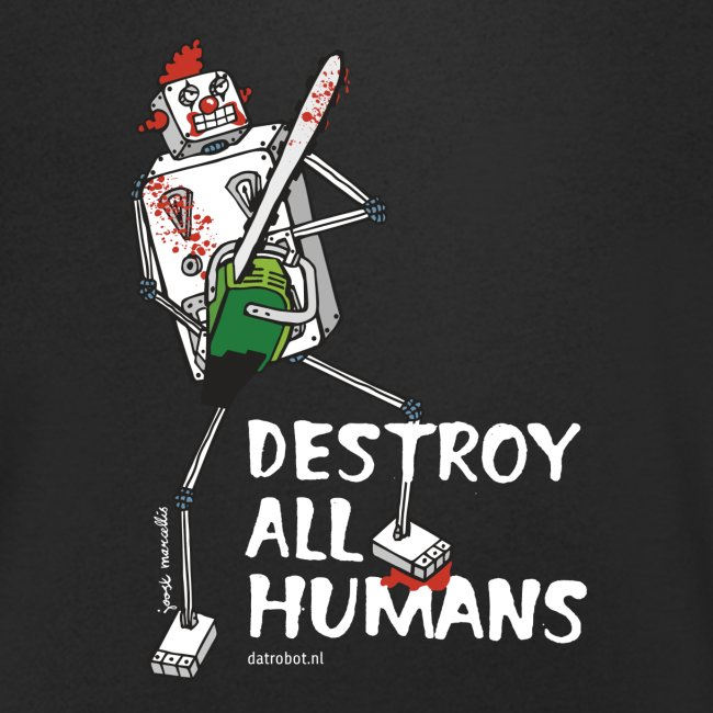 Dat Robot: Destroy Series Killer Clown Dark