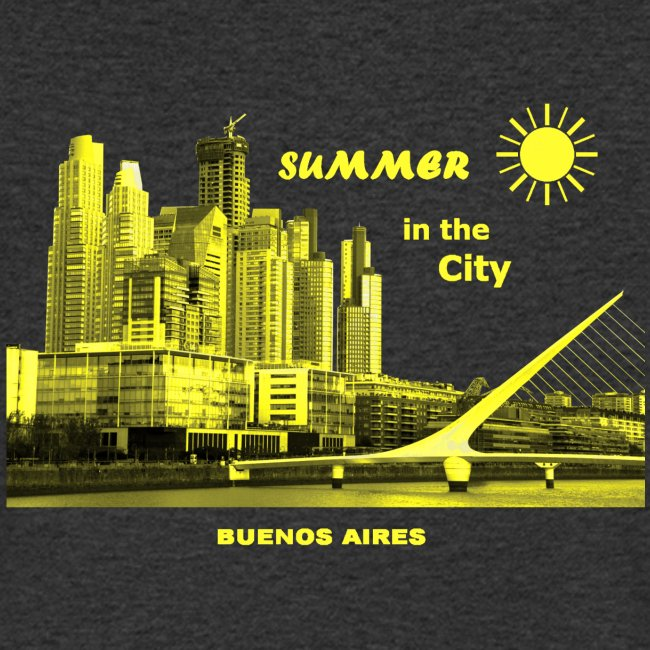 Summer in the City Buenos Aires Argeninien
