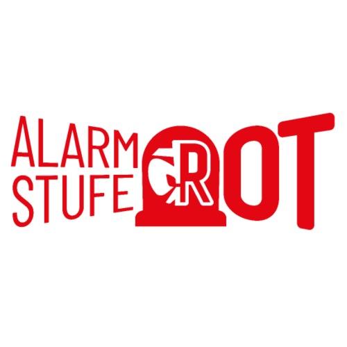 Alarmstufe Rot Rot - Männer Bio-T-Shirt mit V-Ausschnitt von Stanley & Stella