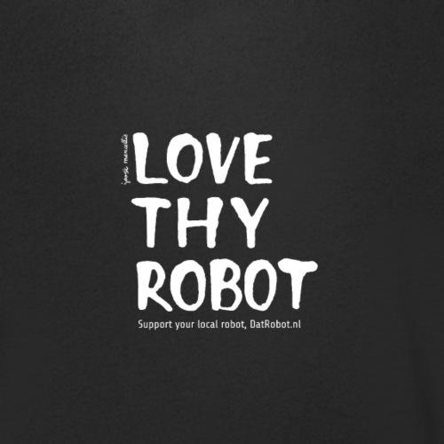 Dat Robot: Support - Mannen bio T-shirt met V-hals van Stanley & Stella