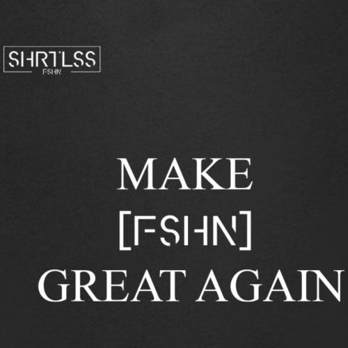 MAKE FASHION GREAT AGAIN - Männer Bio-T-Shirt mit V-Ausschnitt von Stanley & Stella