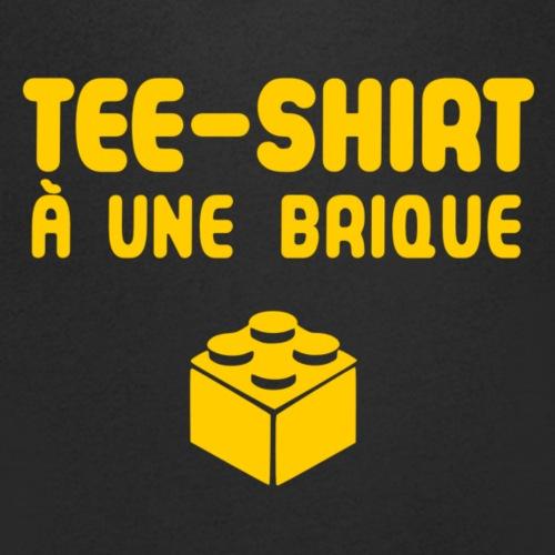 Une brique jaune png - T-shirt bio col V Stanley & Stella Homme