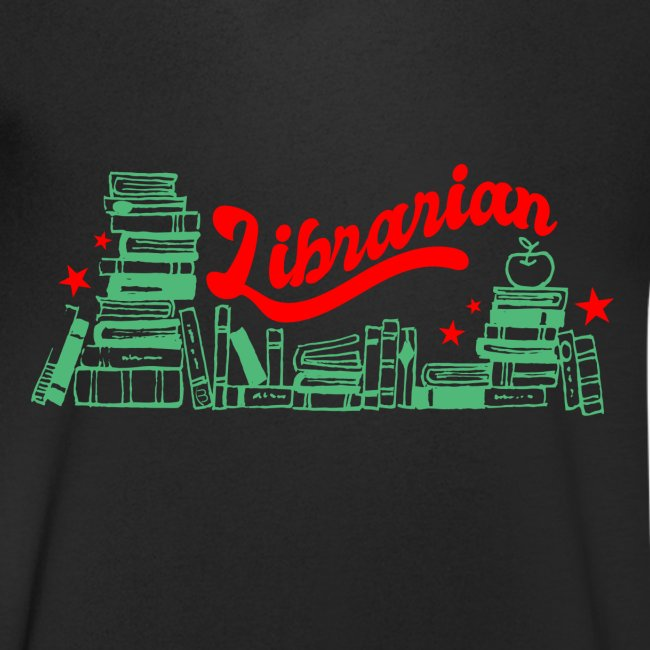 0322 Stack of books Librarian bookshelf
