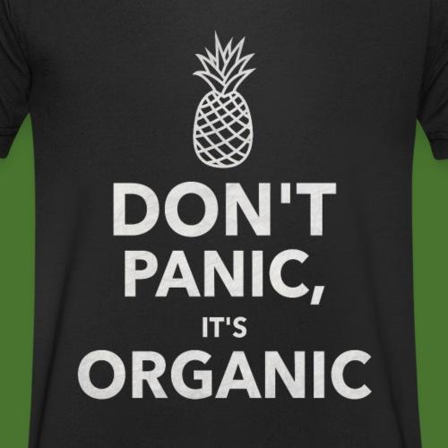 Don´t Panic it´s Organic - Männer Bio-T-Shirt mit V-Ausschnitt von Stanley & Stella