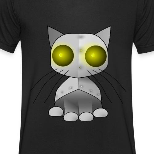 robotkatt - Men's Organic V-Neck T-Shirt by Stanley & Stella