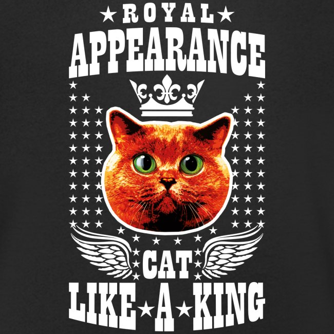 20 Royal Appearance Red Cat like a King Crown