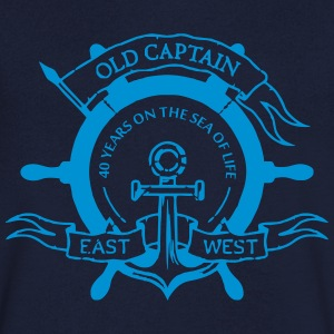Capitan40 - Men's V-Neck T-Shirt