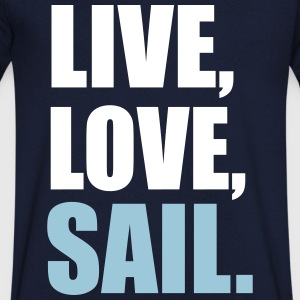 sailing - Men's V-Neck T-Shirt