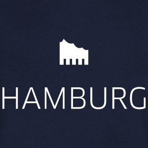 Hamburg - Men's V-Neck T-Shirt