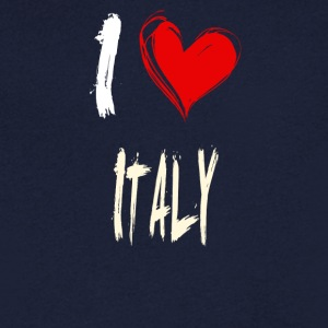I love italy - Men's V-Neck T-Shirt