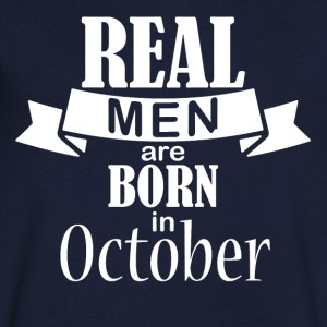 October birthday gift - Men's V-Neck T-Shirt