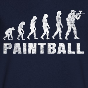 Evolution Paintball 2.0 - Paintball T-shirt - Maglietta da uomo con scollo a V