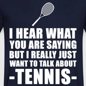 Funny Tennis Player Gift Idea - Men's V-Neck T-Shirt