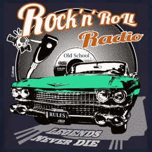 Rockandroll radio 03 color - Men's V-Neck T-Shirt