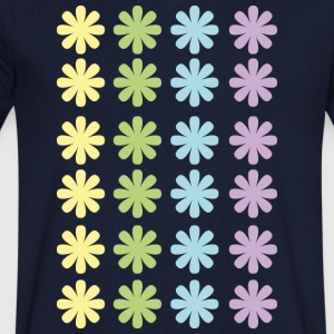 Color Flower - Men's V-Neck T-Shirt