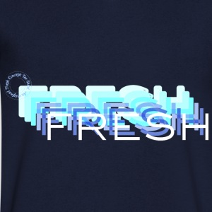 Fresh with a French Touch - Men's V-Neck T-Shirt