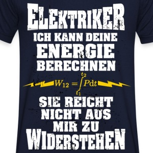 Electrician - I can calculate your energy - Men's V-Neck T-Shirt
