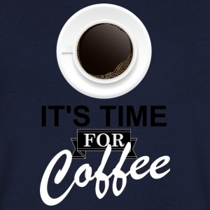 Coffee_time - T-shirt Homme col V