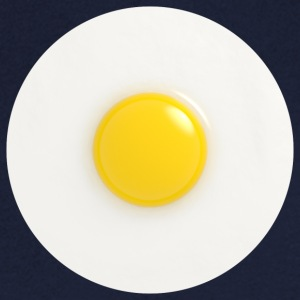 fried egg - Men's V-Neck T-Shirt