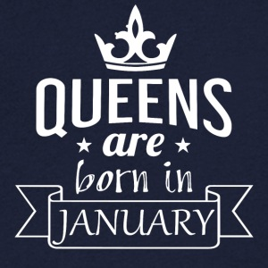 Queens are born in January - Men's V-Neck T-Shirt
